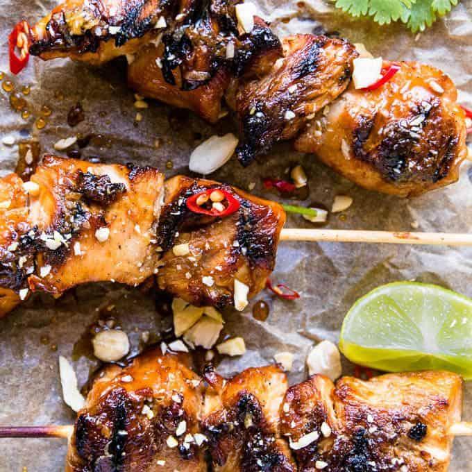 3 Ingredient Chicken Dinners: 3 Ingredient Honey Garlic Chicken Recipe • Salted Mint