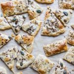 Seeded Flat Bread Crackers