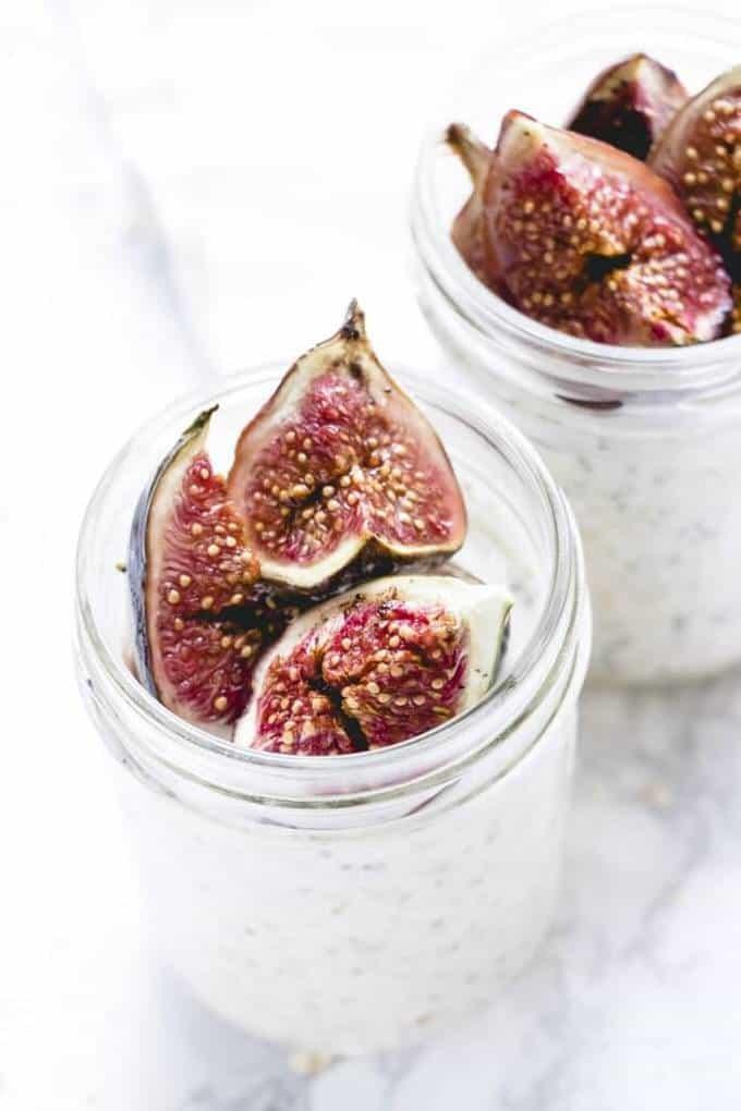 Fig & Honey Overnight Oats