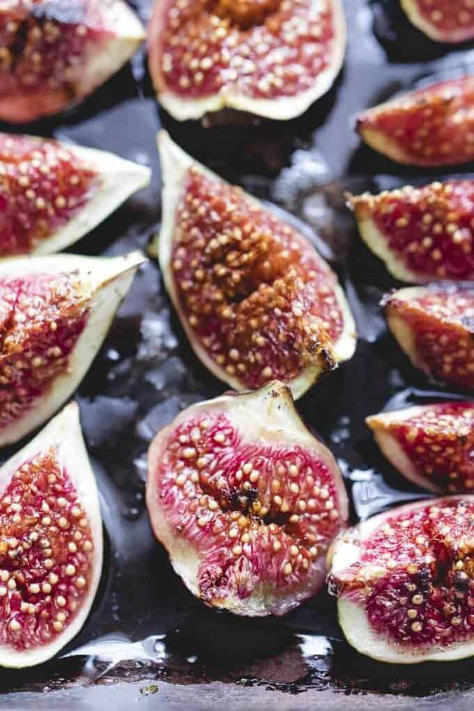 Vanilla & Honey Baked Figs