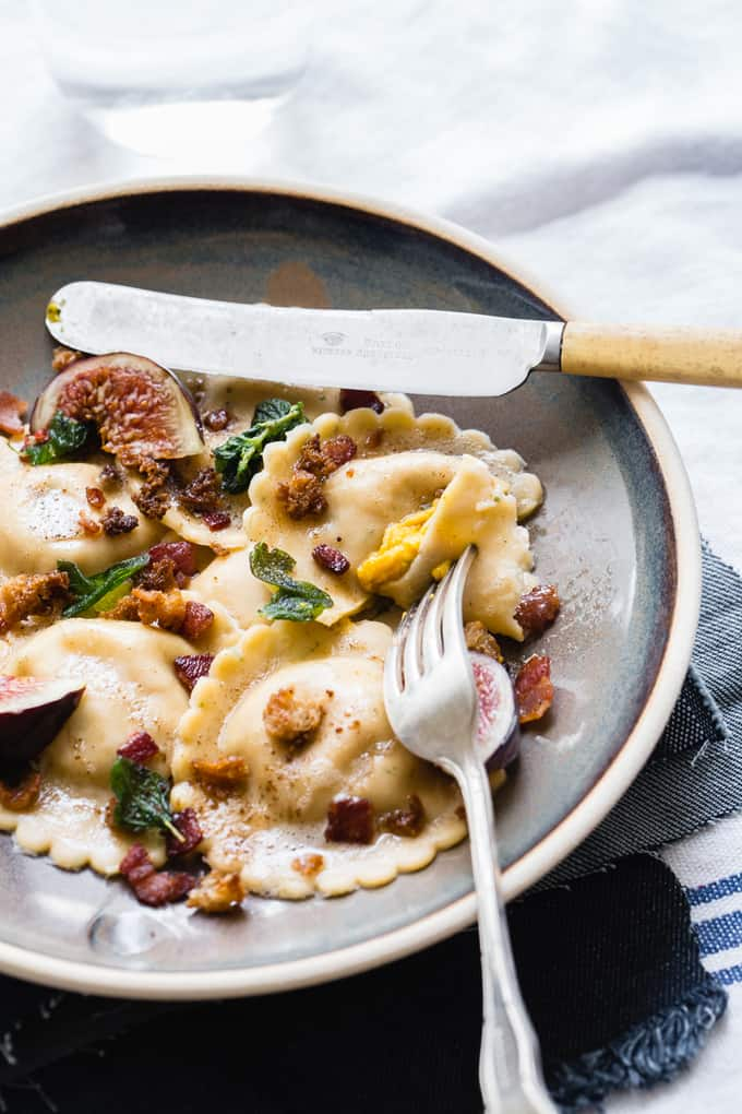 Roasted Pumpkin Ravioli