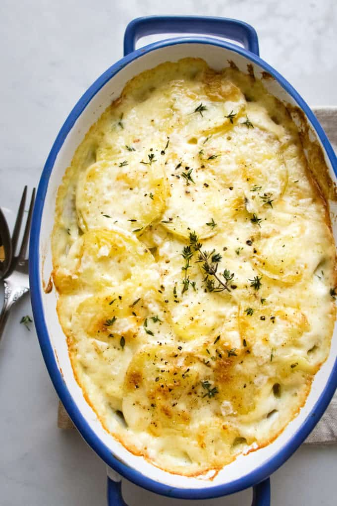 Easy Classic Potatoes Au Gratin