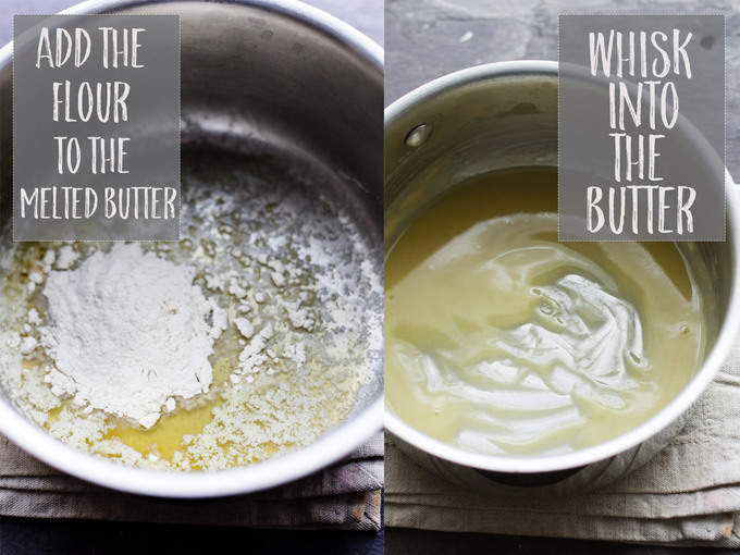 Melted Butter and roux