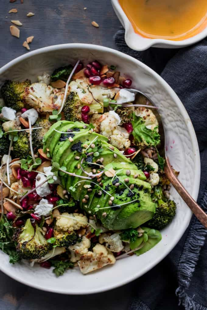 Healthy Glow Broccoli & Lemon Winter Salad