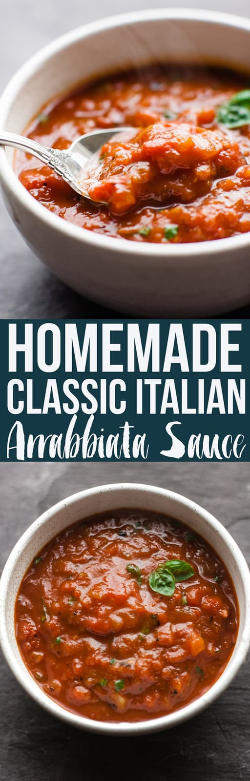 This classic arrabbiata sauce is a 30 minute Italian sauce that's perfect for any tomato based pasta dish. It's a fuss free dinner ready in minutes. Satisfyingly spicy from dried chilli flakes balanced with a hint of sweetness from basil and balsamic vinegar.