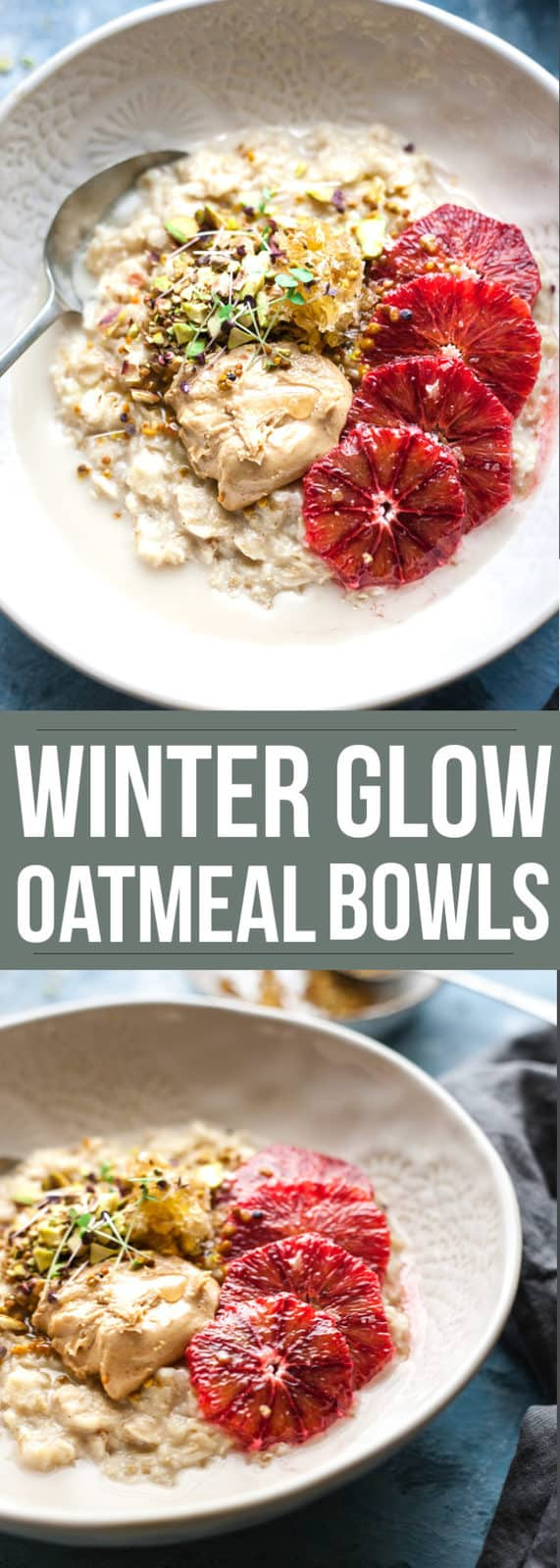 Oatmeal is the perfect warm, nourishing and healthy breakfast that's so cosy for the middle of winter. Loaded with healthy toppings this ho-hum breakfast staple is turned into something quick and easy. #oatmeal #breakfast #easybreakfast