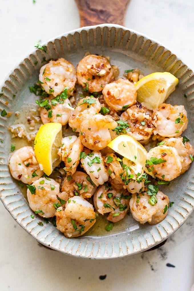 Garlic Butter Shrimp With Chilli
