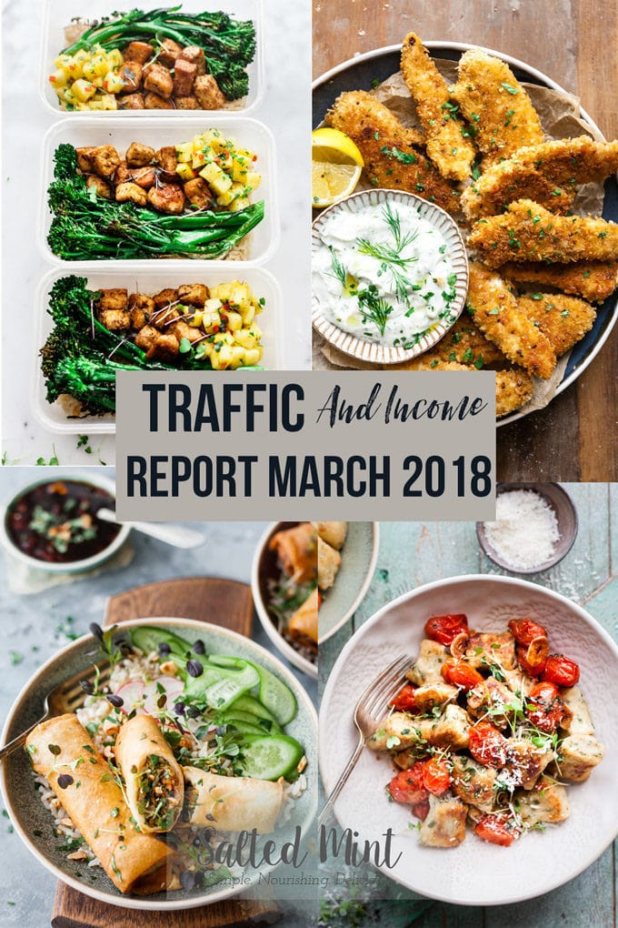 Traffic And Income Report March 2018