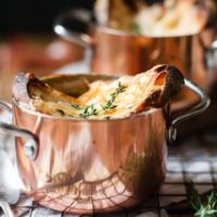 Easy French Onion Soup In Bowls